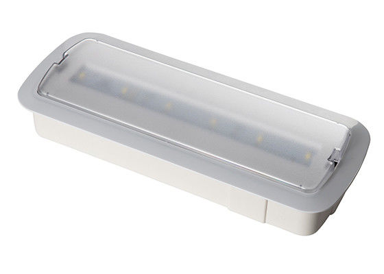 Luz de emergencia recargable interior ahuecada pared de IP20 LED 3 horas de operación